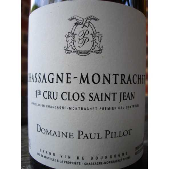 Chassagne-Montrachet 1er Cru Clos Saint-Jean Paul Pillot