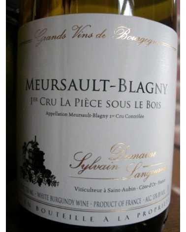 """Meursault Blagny 1er Cru """" La Pièce sous le Bois """" Domaine Sylvain Langoureau"""