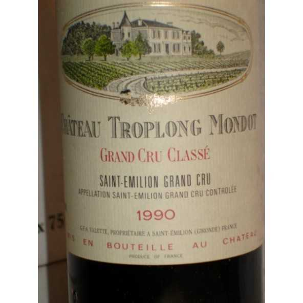 CHATEAU TROPLONG MONDOT  1990