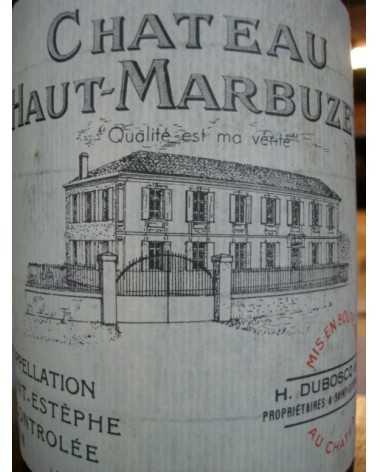 CHATEAU HAUT MARBUZET MAGNUM 1996