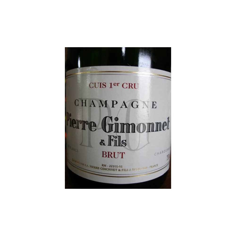 CHAMPAGNE GIMONNET CUIS 1er CRU BRUT SA