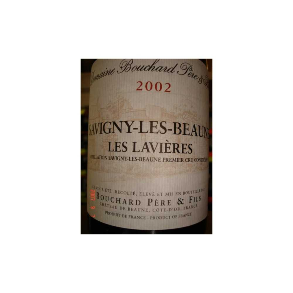 SAVIGNY LES BEAUNE Les Lavières 2002 Mag Bouchard PF