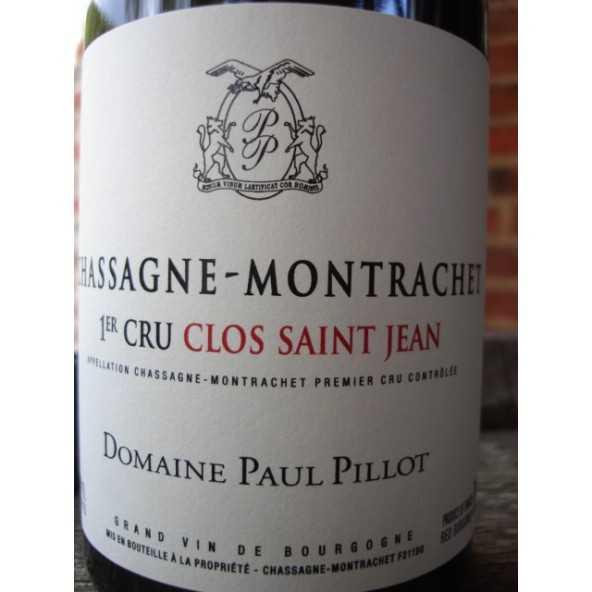 Chassagne-Montrachet  ROUGE 1er Cru Clos Saint Jean Dom.Paul Pillot