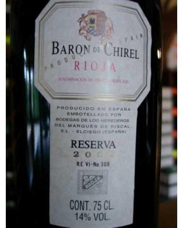 MARQUES DE RISCAL BARON CHIREL 2002