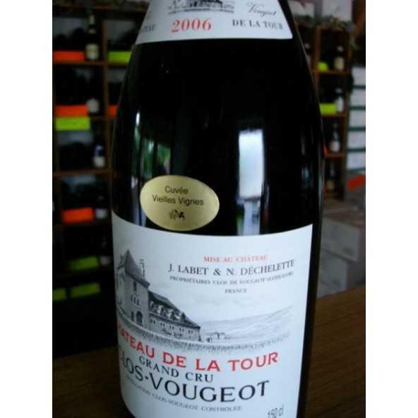 CLOS VOUGEOT Château de la Tour Vieilles Vignes  2006 Magnum