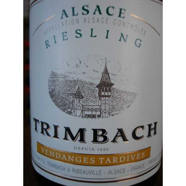 RIESLING TRIMBACH Vendanges Tardives 2002