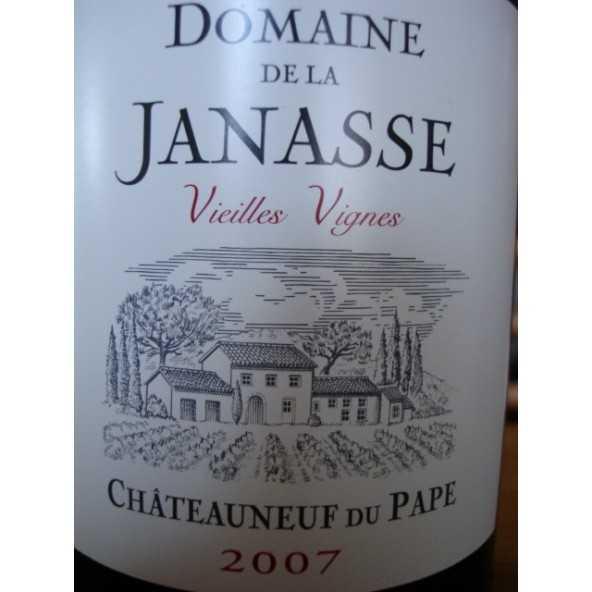 CHATEAUNEUF DU PAPE LA JANASSE Vieilles Vignes 2007