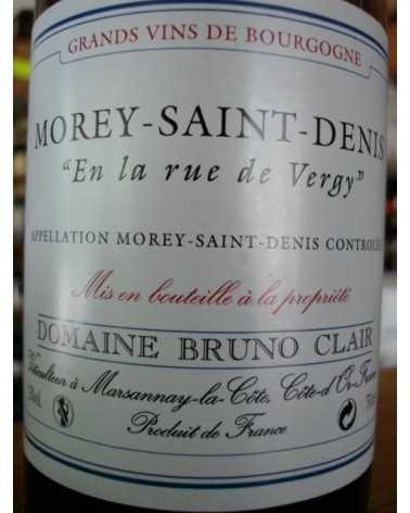 MOREY Saint Denis Blanc En La Rue de Vergy 2009 Bruno CLAIR